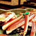 【丹後半島】『間人温泉 炭平』夕食 《間人蟹と旬彩づくし》後篇
