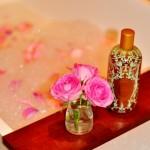 【泡澡】自製茶香玫瑰花瓣浴