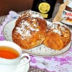 【早餐】半自製的『杏仁牛角可頌麵包』