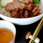 【午餐】燒烤豬肉丸飯+生果盆