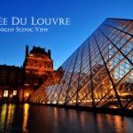 【巴黎】夜色 -《羅浮宮》(Musée du Louvre)
