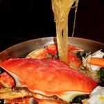 【10聖誕】平安夜晚餐之《蘿勒粉絲蟹煲》和《綠茶紅豆大福》