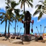 【夏威夷】人很多的《威基基海灘》(Waikīkī Beach)
