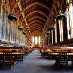 【西雅圖】哥特式圖書館《Suzzallo Library》