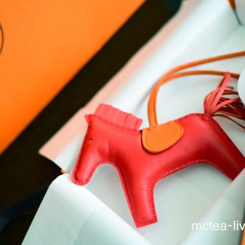 【買物】《Hermès》Rodeo MM 小馬吊飾