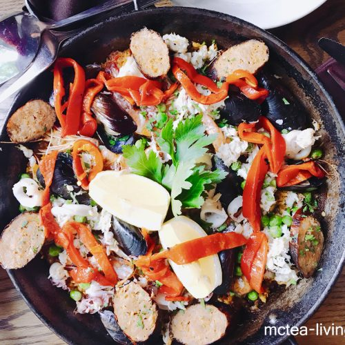 【外食】《Tango Restaurant》西班牙海鮮飯 + 日本手信