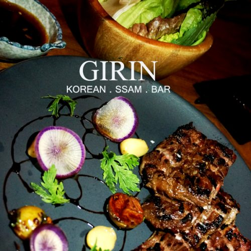【外食】週年紀念之韓國fusion菜《Girin Korean Ssam Bar》