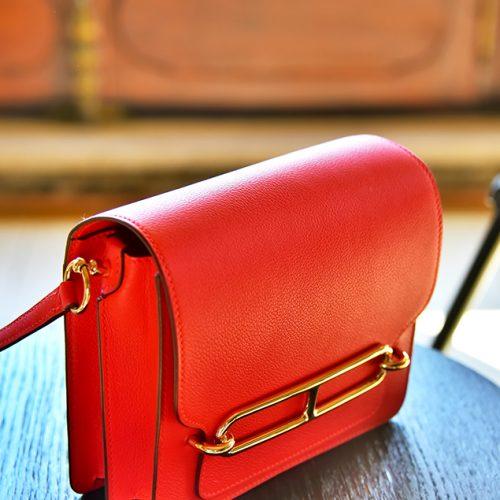 【買物】《Hermès Roulis》迷你包