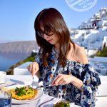 【希臘 聖托里尼】《Grace Santorini》- 海景早餐