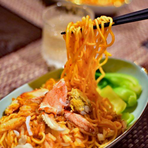 【新加坡】番外篇-辣椒螃蟹泡麵