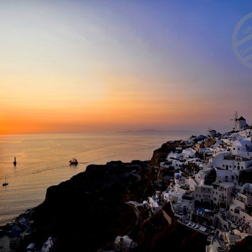 【希臘 聖托里尼】伊亞 | Oia vs. 伊莫洛維里 | Imerovigli 的夕陽