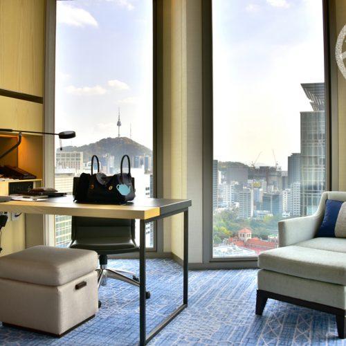 【首爾】住宿《Four Seasons Seoul》• 房間篇之 Corner Premier Room