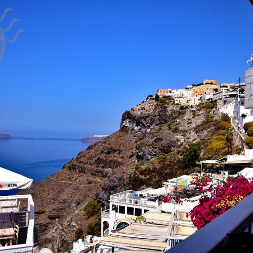 【希臘 聖托里尼】費拉 | Fira 海景餐廳《Argo Restaurant》