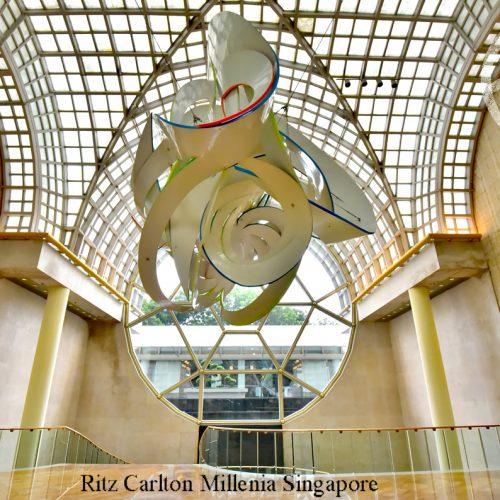 【新加坡】住宿《Ritz Carlton Millenia Singapore》• 公共設施