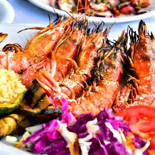 【希臘 聖托里尼】傳統希臘料理《Posidonia Greek Tavern》