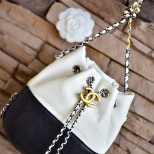 【買物】我的第一個香奈兒《Chanel Gabrielle Purse》迷你水桶包