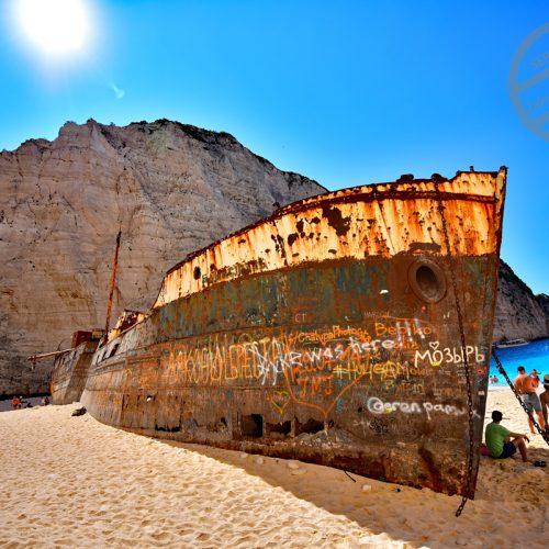 【希臘 扎金索斯島】自駕行程下集-登岸《沉船灣》& 途經《藍洞》