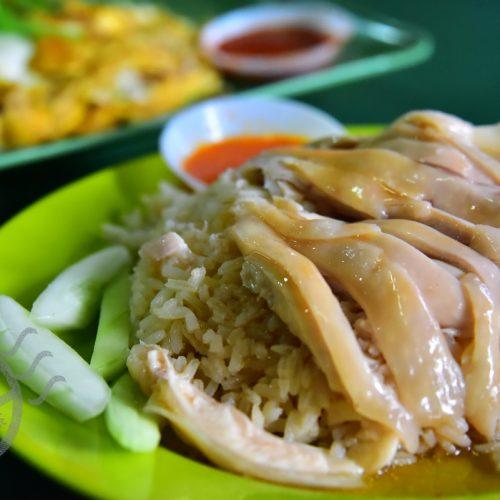 【新加坡】《麥士威熟食中心》上集 -《天天海南雞飯》&《濱海南美食》