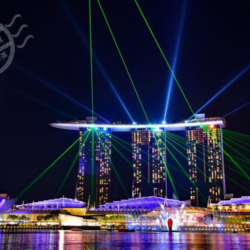 【新加坡】 燈光秀《Marina Bay Sands – 幻彩生輝》《SuperTree Grove – 天空樹》《Light to Night Art Walk》