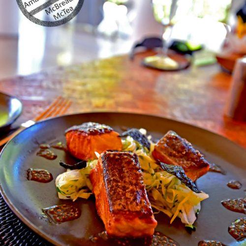 【希臘 伯羅奔尼撒半島】《Amanzoe》 Pool Restaurant 午餐