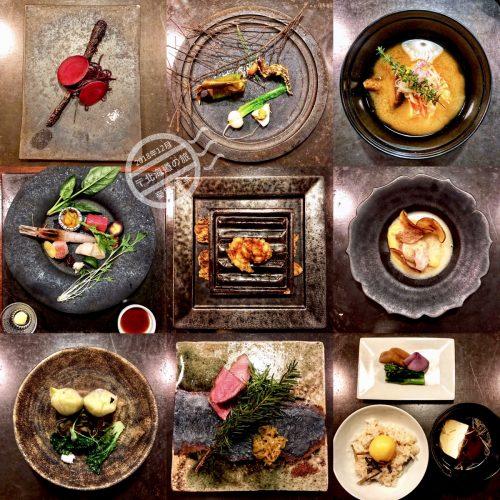 【北海道 ニセコ】新雪谷溫泉《坐忘林 | Zaborin》- 北懷石料理之『平安夜晚餐』+ 鳥巢生日蛋糕