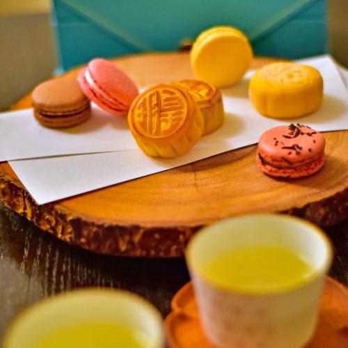 【2020 中秋節】『皇玥』奶黃流心月餅 &『Ladurée』馬卡龍