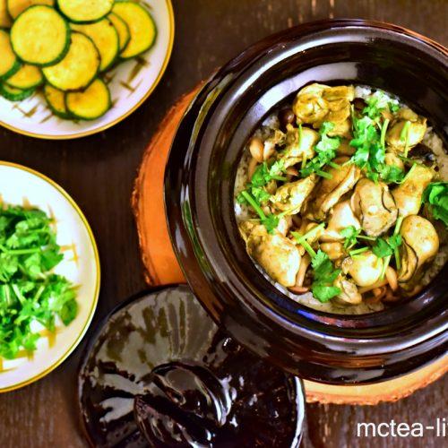 【住家飯】 日式牡蠣土鍋炊飯 & 《雲井窯》開箱
