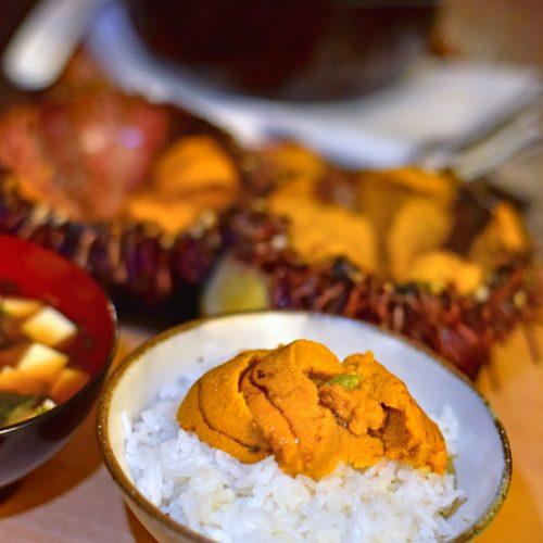 【住家飯】新鮮原隻海膽飯