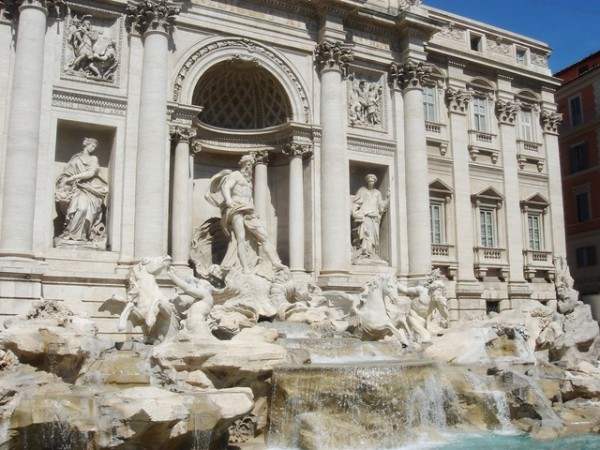 Trevi Fountain(許願池)