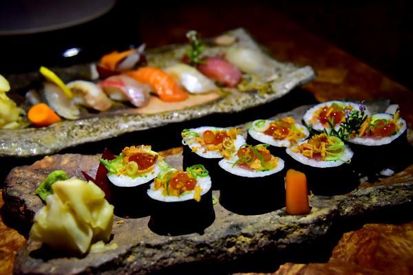 壽司也出奇地好吃