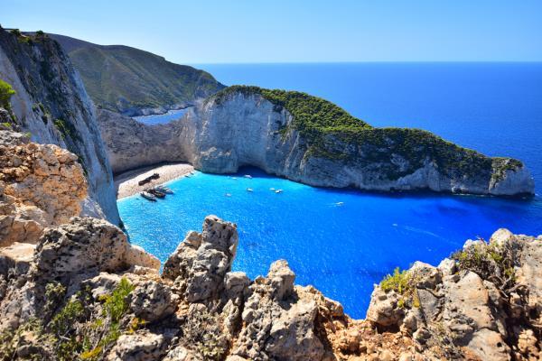 第二站來到《扎金索斯島/Zakynthos》