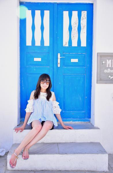 藍白=希臘