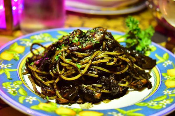 聽說墨魚麵也是威尼斯的的特色菜