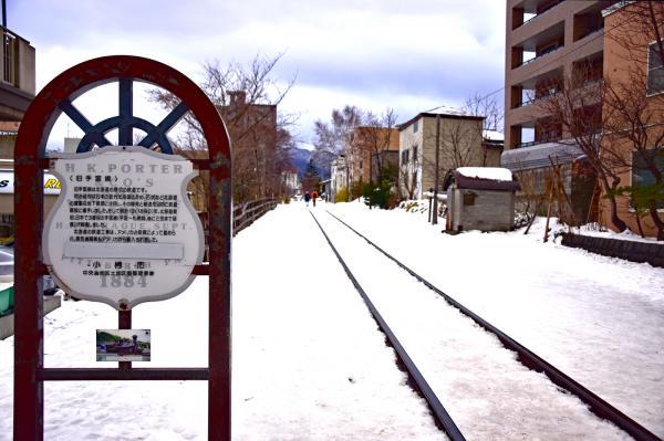 「旧手宮線」是已經荒廢的鐵道