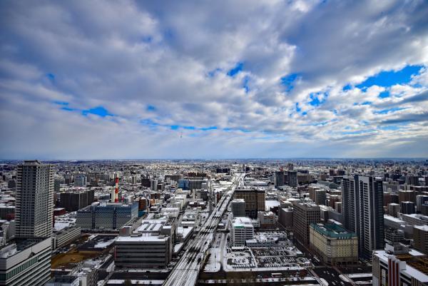第一天到達,入住交通方便的『JRタワーホテル日航札幌』