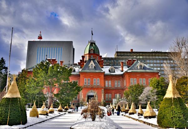 先參觀札幌的『北海道廳舊本廳舍』