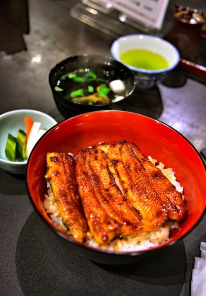 最後一天回西雅圖之前還去吃了香噴噴鰻魚飯~大滿足!